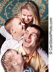 rodzina, radość