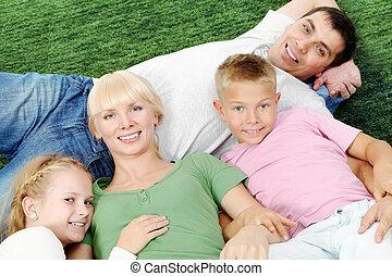 rodzina, spoczynek
