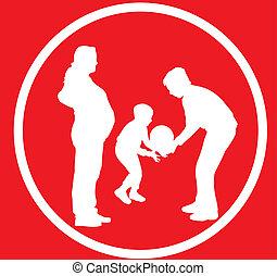 rodzina, znak