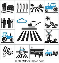 rolnictwo, ikony