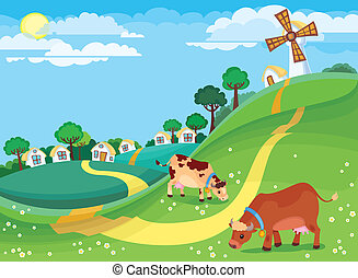 rolny krajobraz