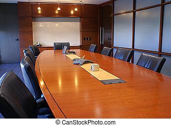 room., zbiorowy trening, spotkanie, albo