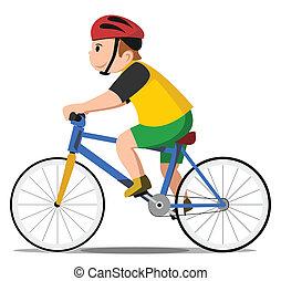 rower, koźlę