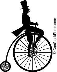 rower, sylwetka, rocznik wina