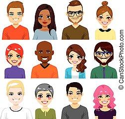 rozmaity, avatar, zbiór