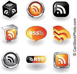 rss, ikony