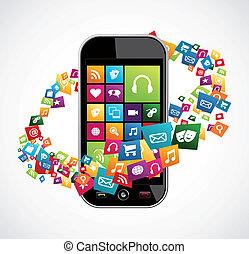 ruchomy, zastosowania, smartphone