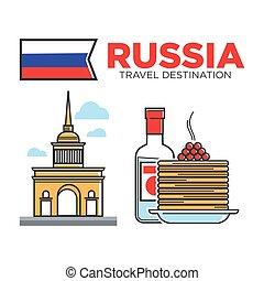 ruski, symbolika, podróż