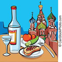 ruski, wódka