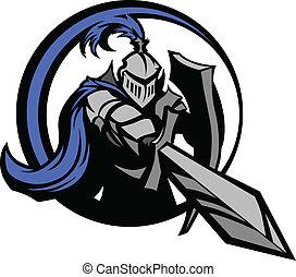 rycerz, średniowieczny, shie, miecz