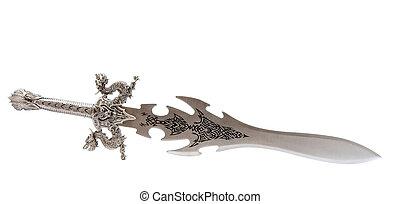 rycerz, zabawka, miecz