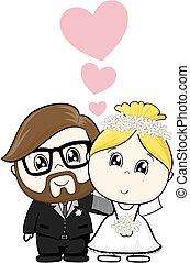rysunek, ślub