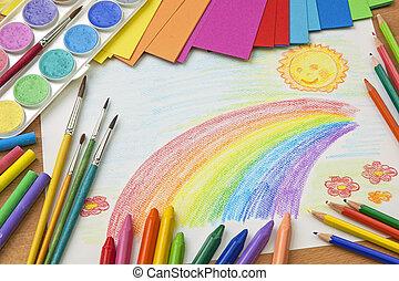 rysunek, dziecięcy