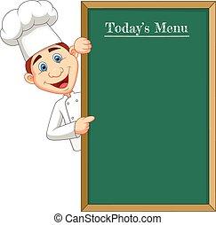 rysunek, klosz, mistrz kucharski, spoinowanie