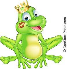 rysunek, książę żaby