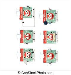 rysunek, różny, emoticons, litera, mistrz kucharski, kalendarz, 25 grudnia
