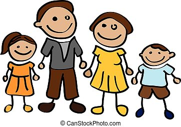 rysunek, rodzina
