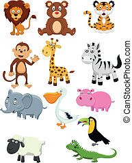 rysunek, zbiór, zwierzę
