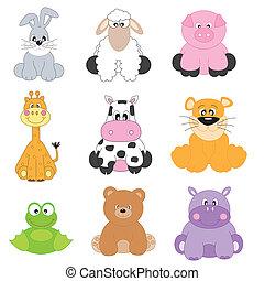 rysunek, zwierzęta