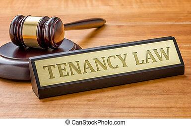 rytownictwo, płyta, nazwa, tenancy, gavel, prawo