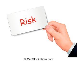 ryzyko, karta ręka