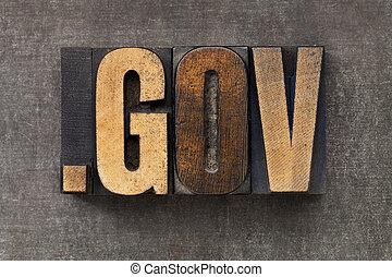 rząd, domena, internet