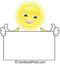 słońce, plakat