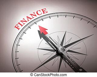 słowo, finanse, spoinowanie, abstrakcyjny, igła, busola