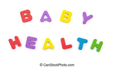 słowo, mający kształt, alfabet, zagadki, zdrowie, niemowlę, biały