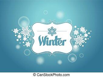 słowo, zima, tytuł