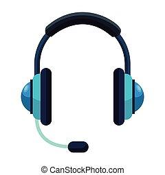 słuchawki, nazywać środek