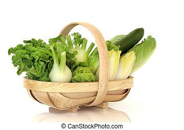 sałata, warzywa