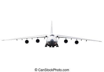 samolot ładunku, lądowanie