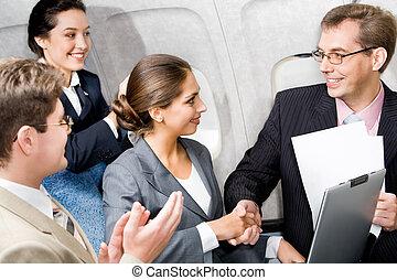 samolot, uzgodnienie