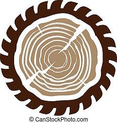 sawmill.cdr, drewno