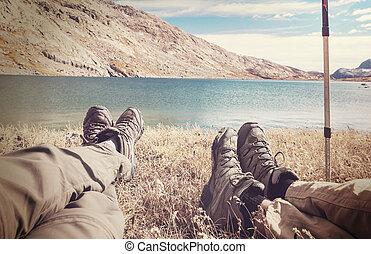 scena, hiking