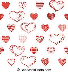 seamless, serce, valentine