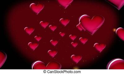 serca, czerwony