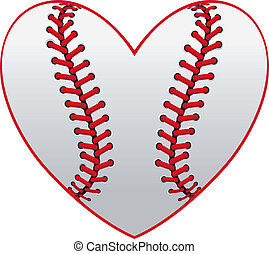 serce, baseball