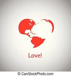 serce, -, love!, świat