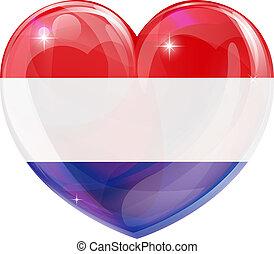 serce, miłość, niderlandy