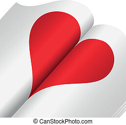 serce, notatnik
