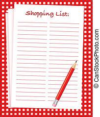shopping spis