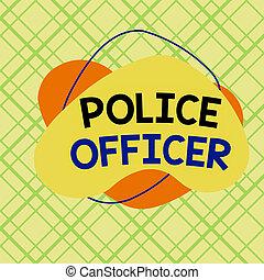 showcasing, ręka, policja, próbka, officer., wykonanie, fotografia, design., konceptualny, multicolor, pisanie, pokaz, drużyna, handlowy, demonstrowanie, szkic, format, prawo, obiekt, oficer, asymetryczny