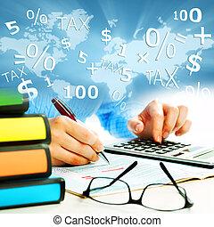 siła robocza, calculator., handlowy zaludniają