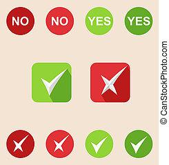 sieć, czek, ikony, stały, icons., marka, ruchomy, zastosowania, samolot, długi, shadows)., (design