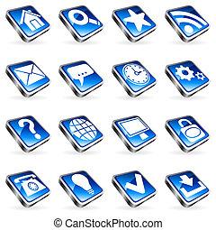 sieć, icons.