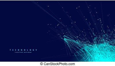 sieć, technologia, oczko, tło, cyfrowy, dane