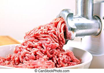 siekany, zrobienie, mięso