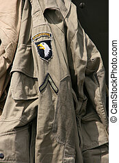 sierżant, airborne, jednolity